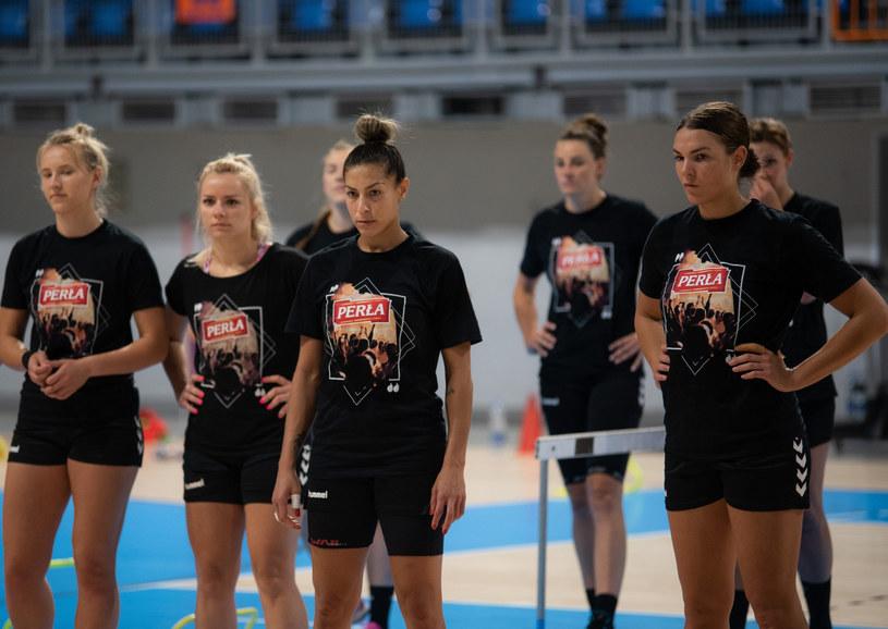 Piłkarki ręczne Perły Lublin /Krzysztof Radzki /East News