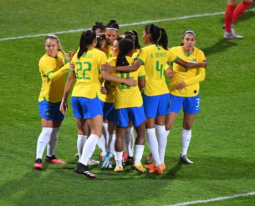Piłkarki reprezentacji Brazylii /AFP