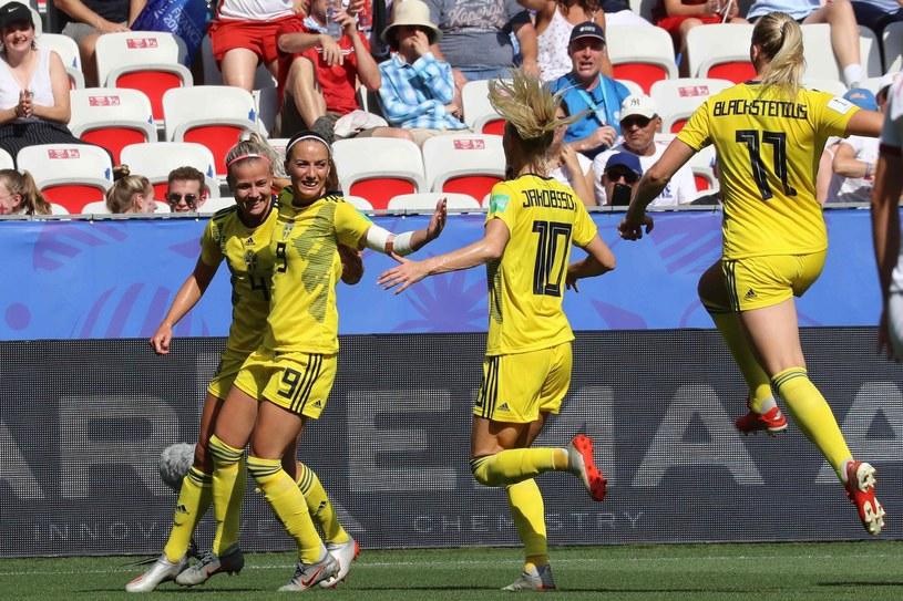 Piłkarki reprezentacji Szwecji /AFP