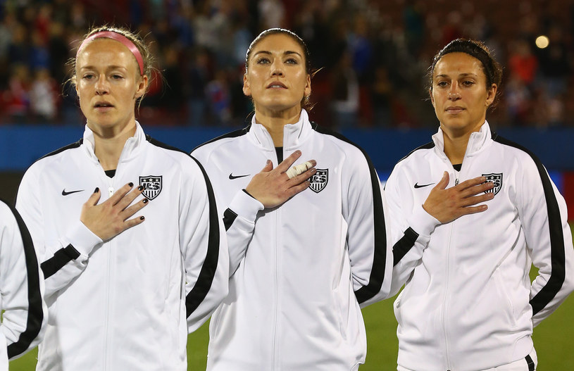 Piłkarki Stanów Zjednoczonych /AFP