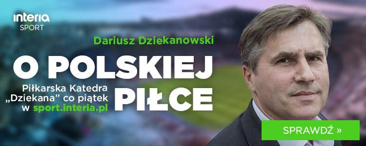 """Piłkarska Katedra """"Dziekana"""" w każdy piątek /Interia.pl /materiały prasowe"""