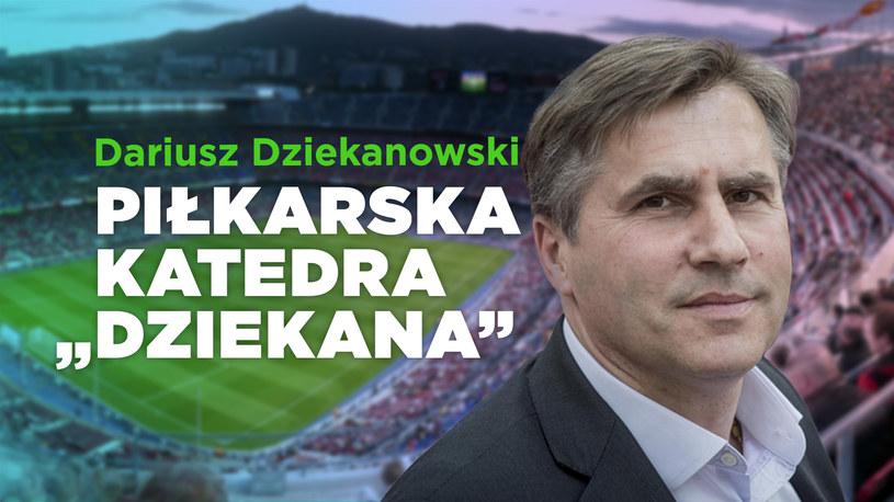 """Piłkarska """"Katedra"""" Dziekana /interia /INTERIA.PL"""