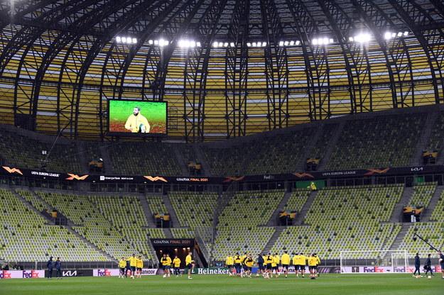 Piłkarska LE. W środę hiszpańsko-angielski finał w Gdańsku /Adam Warżawa /PAP