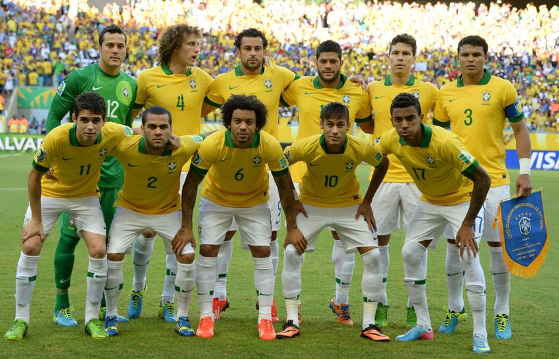 Piłkarska reprezentacja Brazylii /AFP