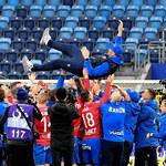Piłkarski PP. Trener Rakowa: Byliśmy jak zawsze konsekwentni. To fantastyczna chwila
