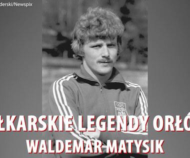 """Piłkarskie legendy """"Orłów"""" - Waldemar Matysik. Wideo"""