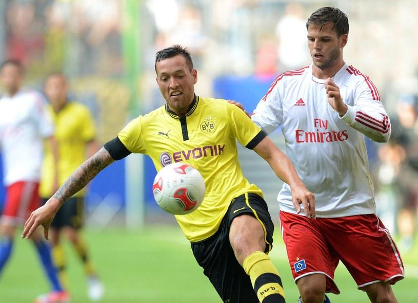 Piłkarz Borussii Dortmund Julian Schieber /AFP
