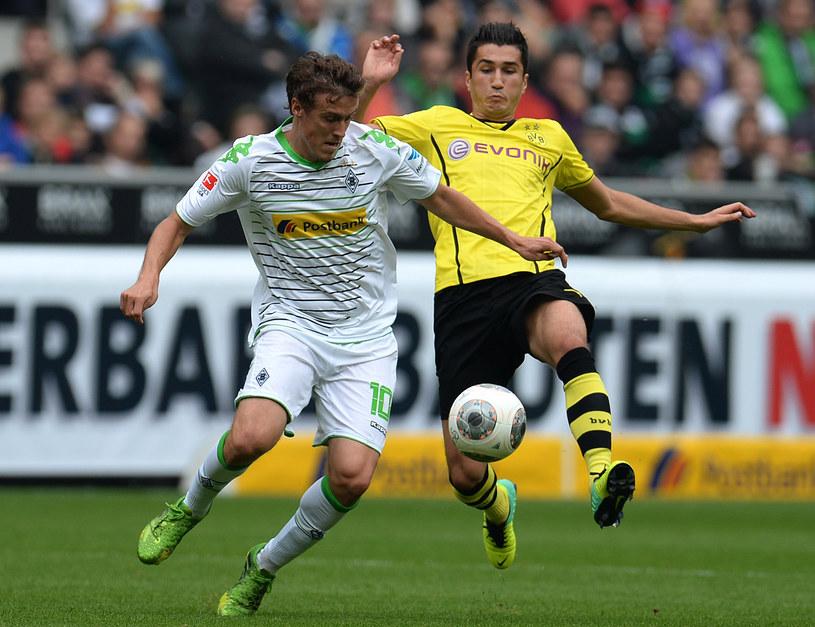 Piłkarz Borussii Dortmund Nuri Sahin (z prawej) /AFP