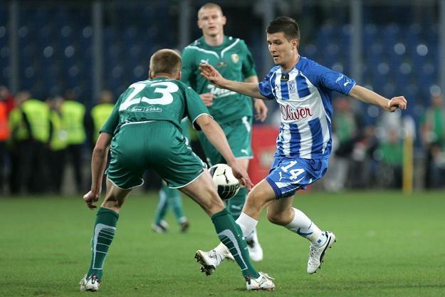 Piłkarz Lecha Poznań Semir Stilić fot: Adam Ciereszko /PAP