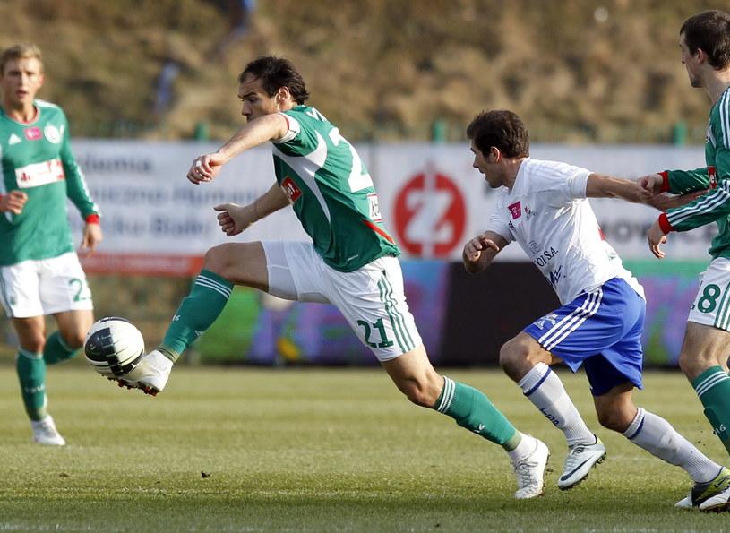 Piłkarz Legii Ivica Vrdoljak /PAP