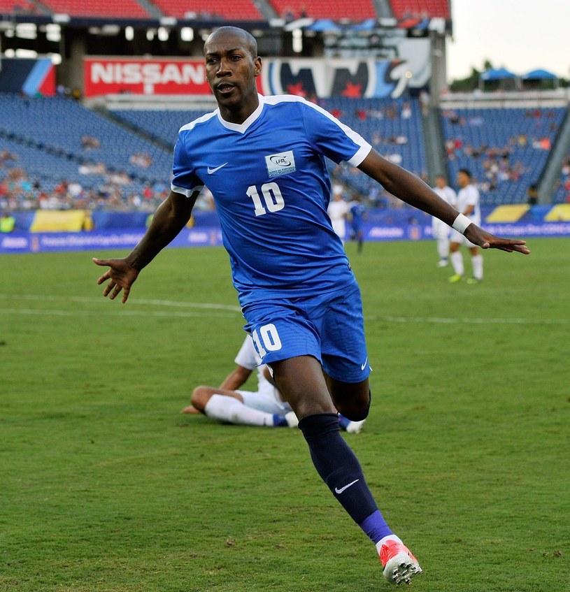Piłkarz Legii Steeven Langil za burtą Złotego Pucharu CONCACAF /AFP