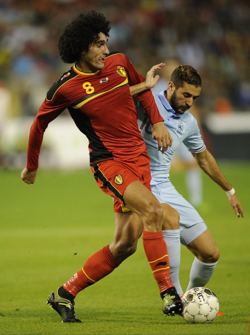 Piłkarz Manchesteru United i reprezentacji Belgii Marouane Fellaini /AFP