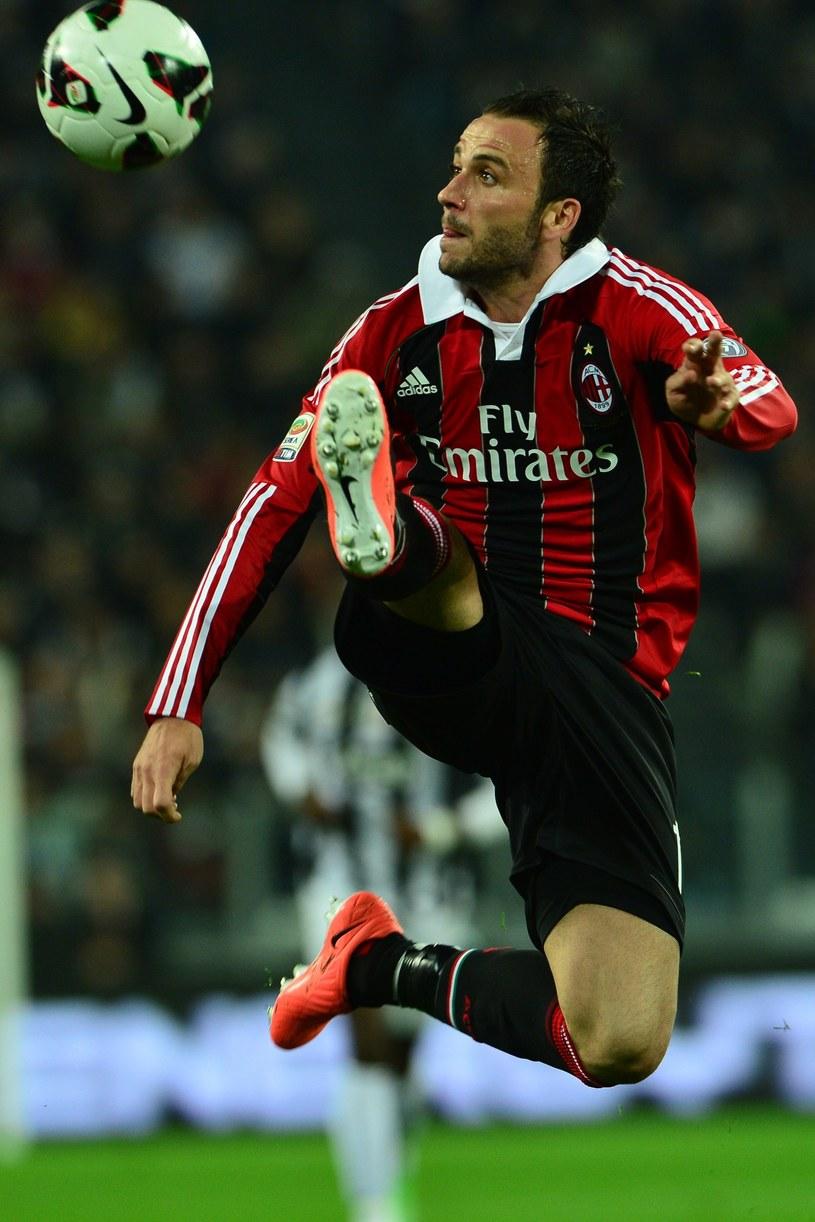 Piłkarz Milanu Giampaolo Pazzini /AFP