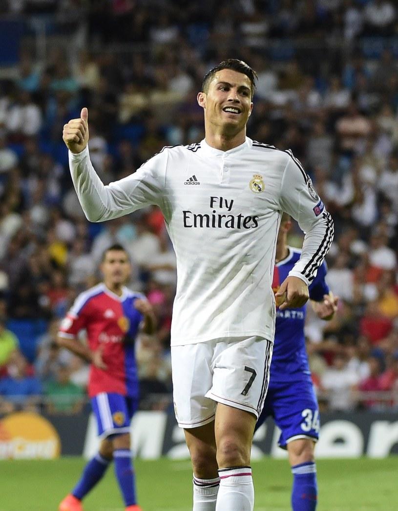 Piłkarz Realu Madryt Cristiano Ronaldo /AFP