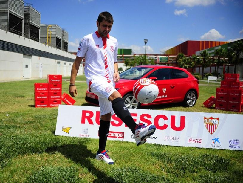 Piłkarz Sevilli Raul Rusescu /AFP