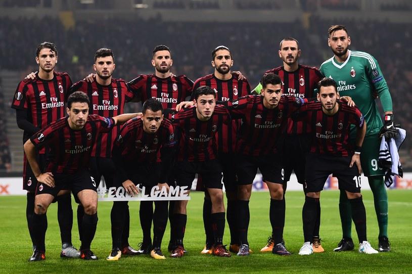 Piłkarze AC Milan /AFP