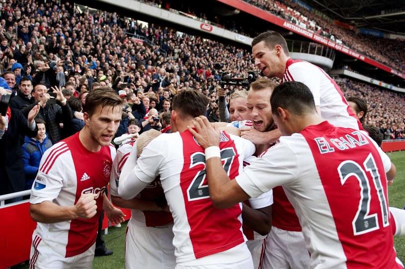 Piłkarze Ajaksu mieli co świętować /AFP