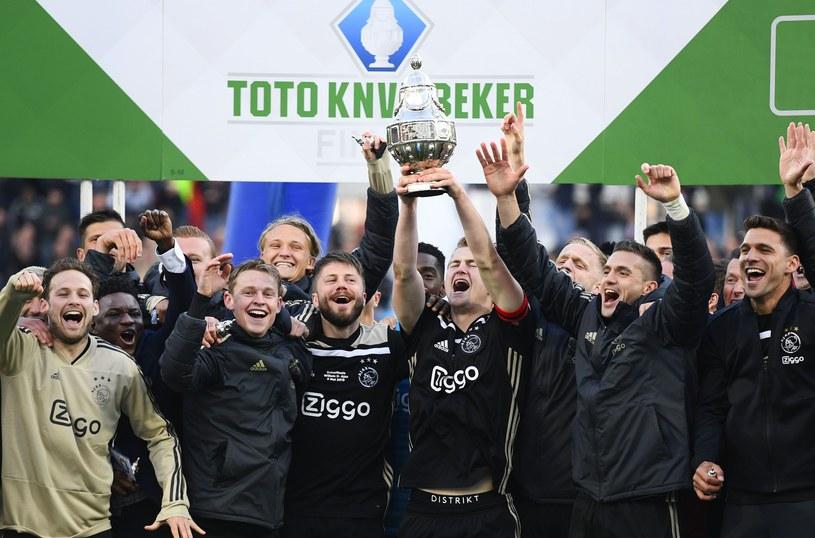 Piłkarze Ajaksu triumfują /AFP