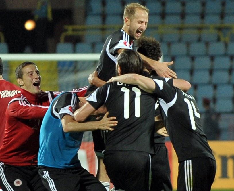 Piłkarze Albanii /AFP