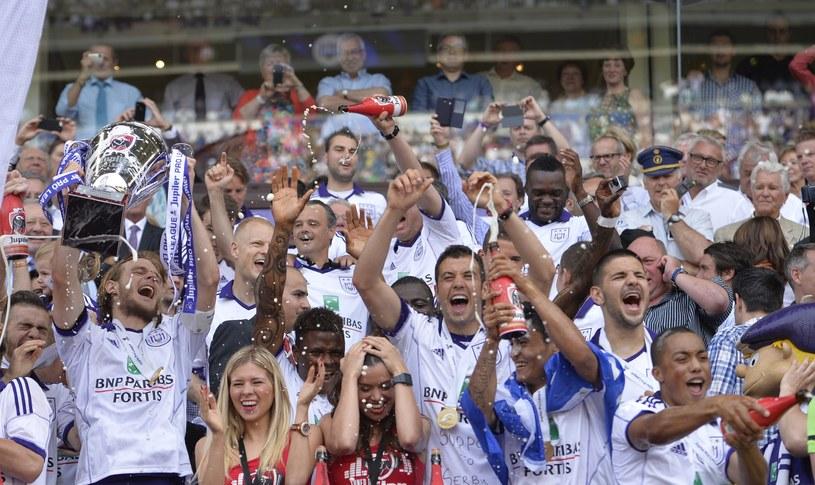 Piłkarze Anderlechtu zostali mistrzami Belgii /AFP
