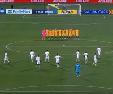 Piłkarze Arabii Saudyjskiej nie uszanowali minuty ciszy ku pamięci ofiar zamachu w Londynie