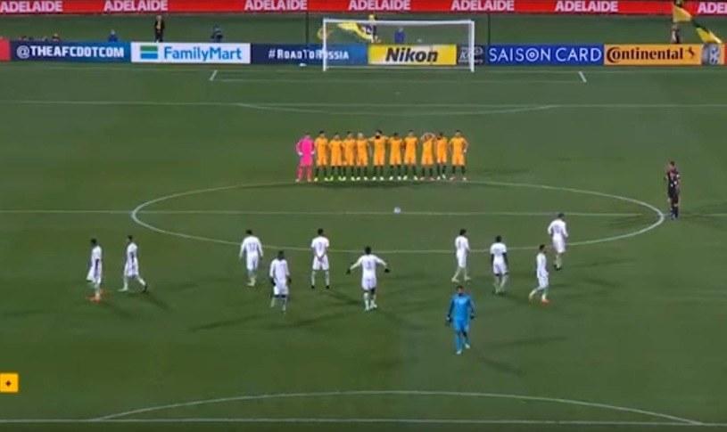 Piłkarze Arabii Saudyjskiej przed meczem z Australią /Fot. Facebook /