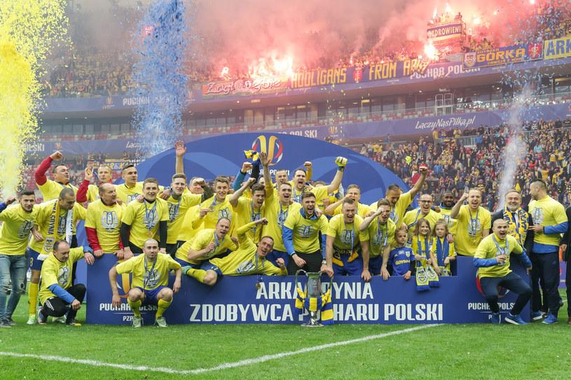 Piłkarze Arki Gdynia mają nowego właściciela /Mateusz Włodarczyk /Agencja FORUM