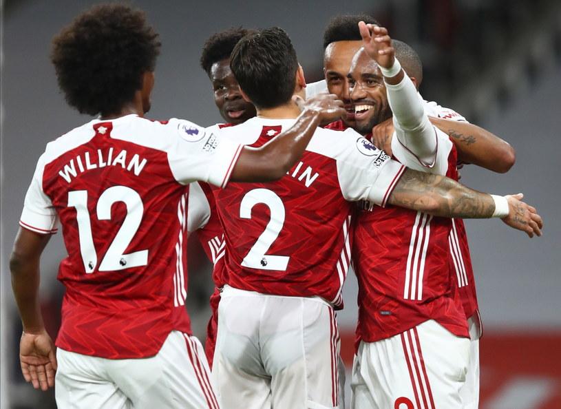 Piłkarze Arsenalu mogą cieszyć się z drugiego zwycięstwa /PAP/EPA/Julian Finney / POOL /PAP/EPA