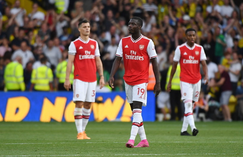 Piłkarze Arsenalu / ANDY RAIN    /AFP