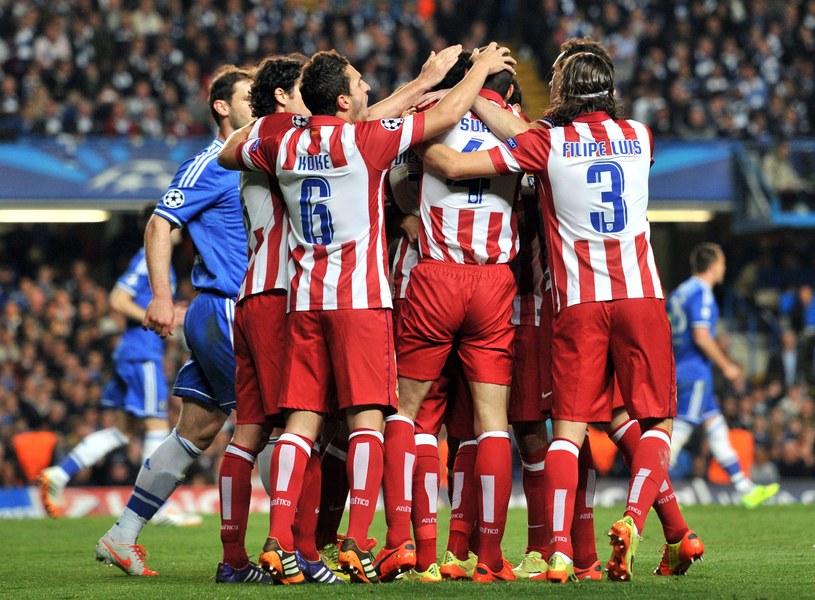 Piłkarze Atletico Madryt /AFP