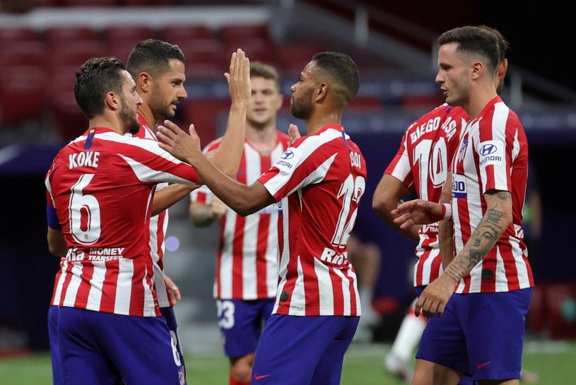 Piłkarze Atletico mogą cieszyć się ze zwycięstwa /JUANJO MARTIN /PAP/EPA