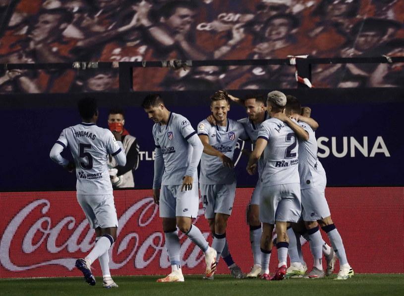 Piłkarze Atletico mogli się cieszyć z efektownego zwycięstwa /PAP/EPA/Jesús Diges /PAP/EPA
