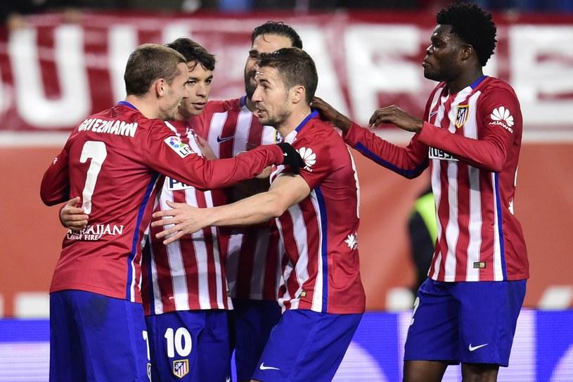 Piłkarze Atletico okazali się lepsi od Rayo Vallecano /AFP