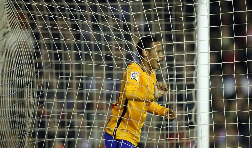 Piłkarze Barcelony mieli problem ze znalezieniem drogi do siatki /AFP