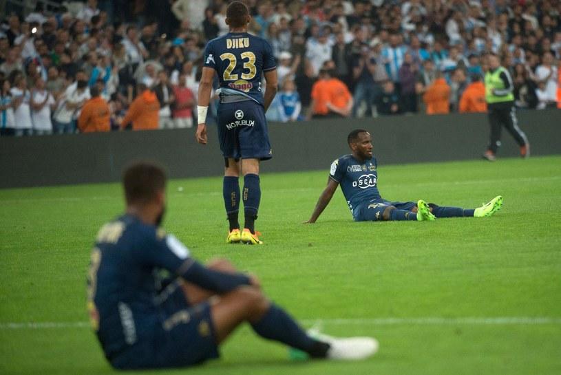 Piłkarze Bastii /AFP