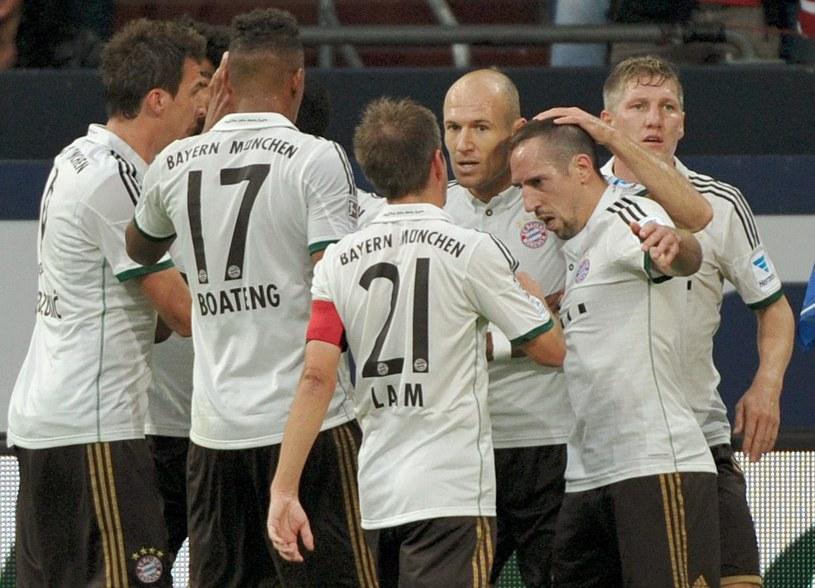 Piłkarze Bayernu Monachium w imponującym stylu rozbili Schalke /AFP