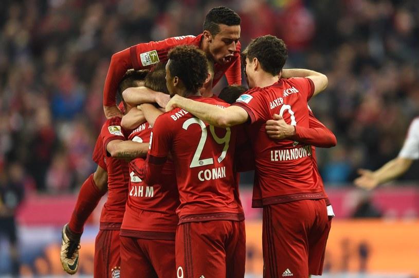 Piłkarze Bayernu Monachium /AFP
