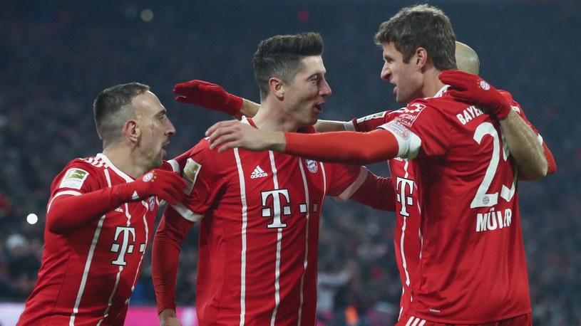 Piłkarze Bayernu Monachium /Getty Images