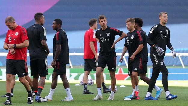 Piłkarze Bayernu Monachium /Miguel A. Lopes / POOL /PAP/EPA