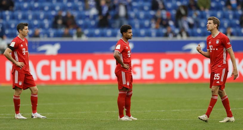 Piłkarze Bayernu musieli uznać wyższość Hoffenheim /PAP/EPA