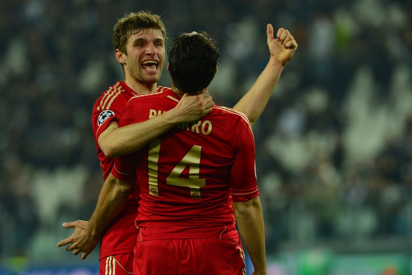 Piłkarze Bayernu nie dali szans Juventusowi /AFP