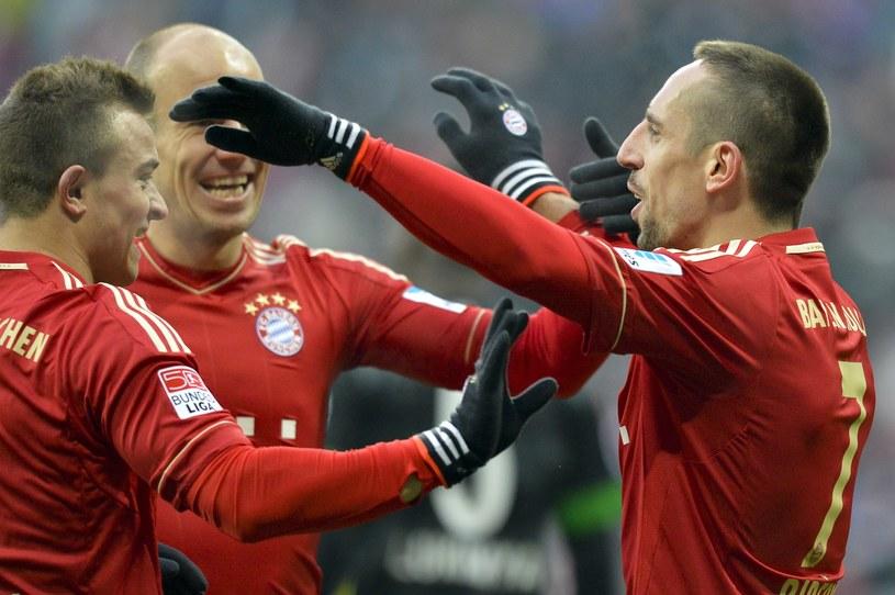 Piłkarze Bayernu są w tym sezonie w bardzo wysokiej formie /AFP