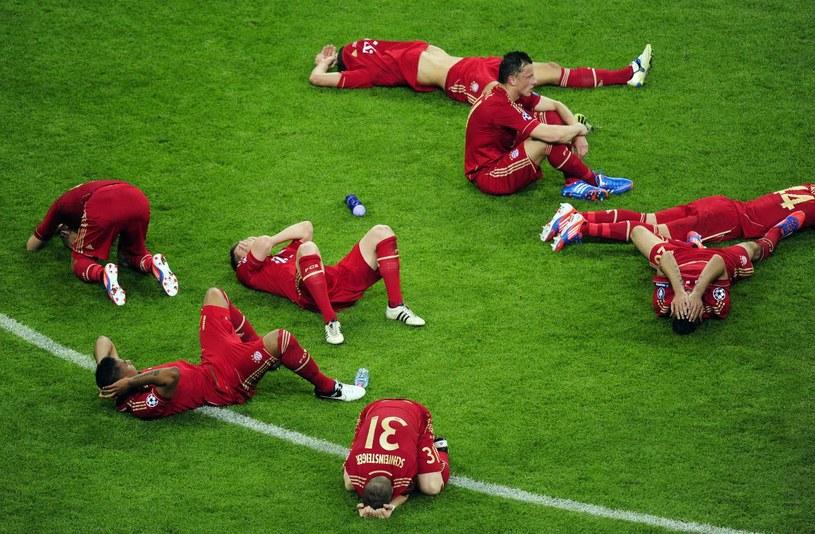 Piłkarze Bayernu tym razem chcą płakać ze szczęścia /AFP