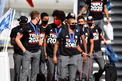 Piłkarze Bayernu wrócili do Monachium