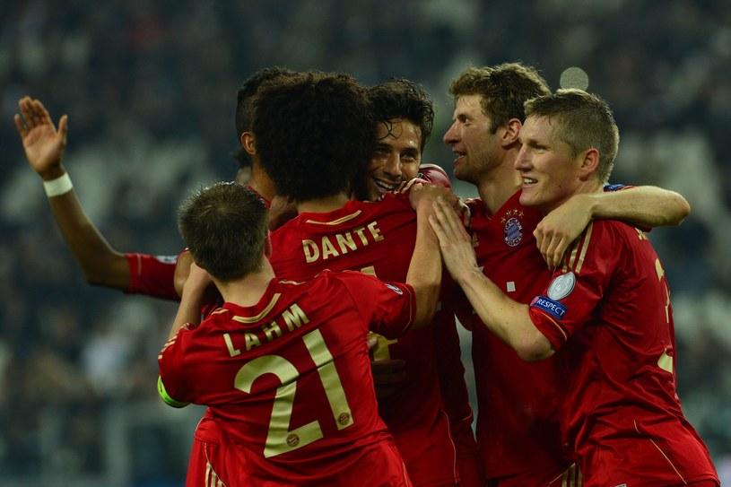 Piłkarze Bayernu zagrają w półfinale Ligi Mistrzów /AFP
