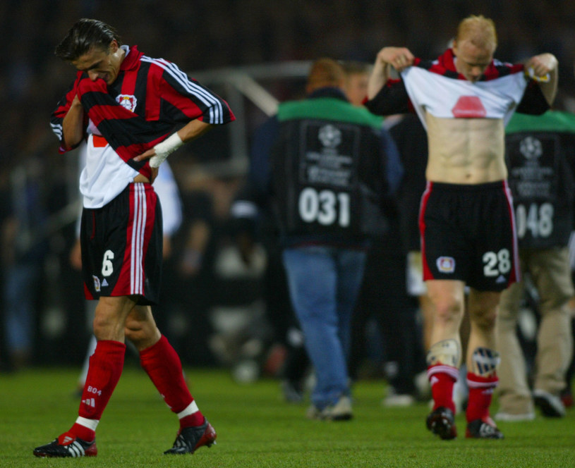 Piłkarze Bayeru musieli się pogodzić z porażką w finale /AFP