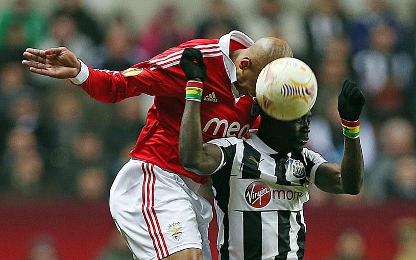 Piłkarze Benficy wyeliminowali Newcastle /AFP