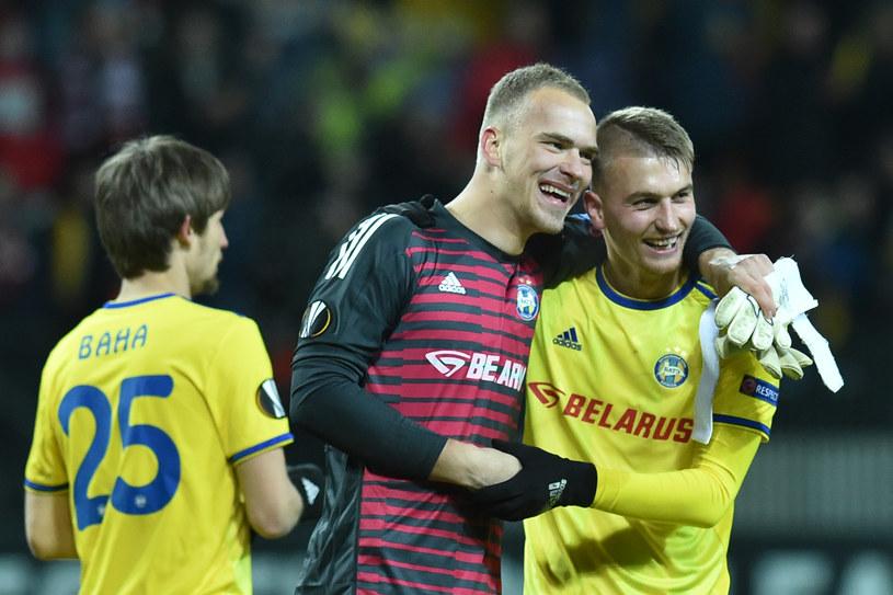 Piłkarze białoruskiego BATE /SERGEI GAPON /AFP