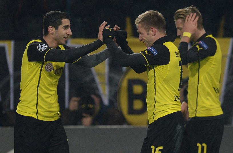 Piłkarze Borussii Dortmund /AFP