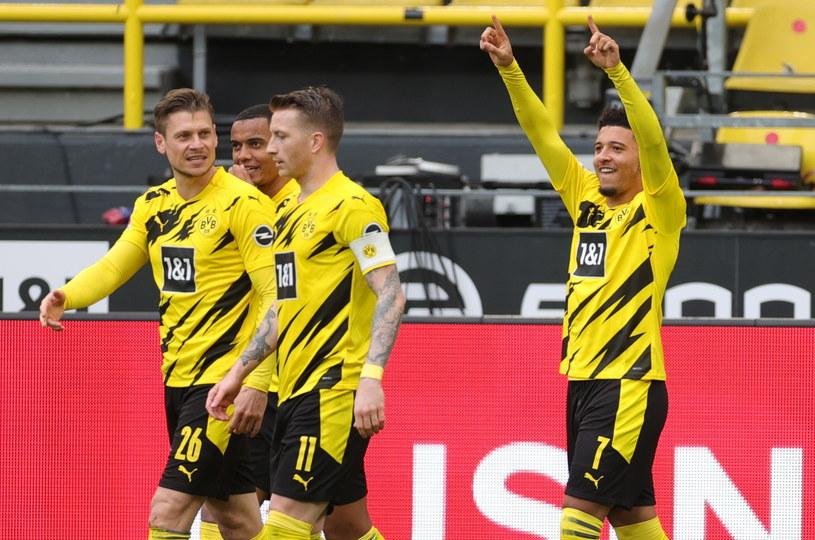 Piłkarze Borussii Dortmund /PAP/EPA